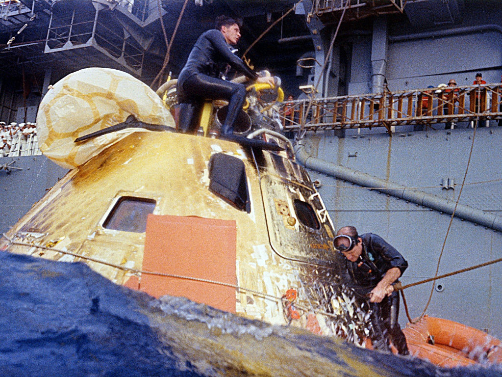 Apollo 14 Recovery - Pics about space